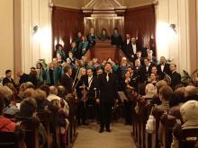 Vánoční koncert - J. J. Ryba - Česká mše vánoční, kostel ČsCE, Němejcova ul., Plzeň 2016