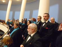 Koncert k 80. narozeninám Jaroslava Krčka, Korandův sbor v Plzni, prosinec 2019