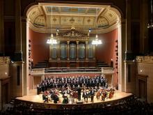Vánoční koncert v Rudolfinu, Praha, prosinec 2019