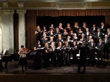 Koncert k 60. výročí založení sboru, Velký sál Měšťanské Besedy, Plzeň, 2014